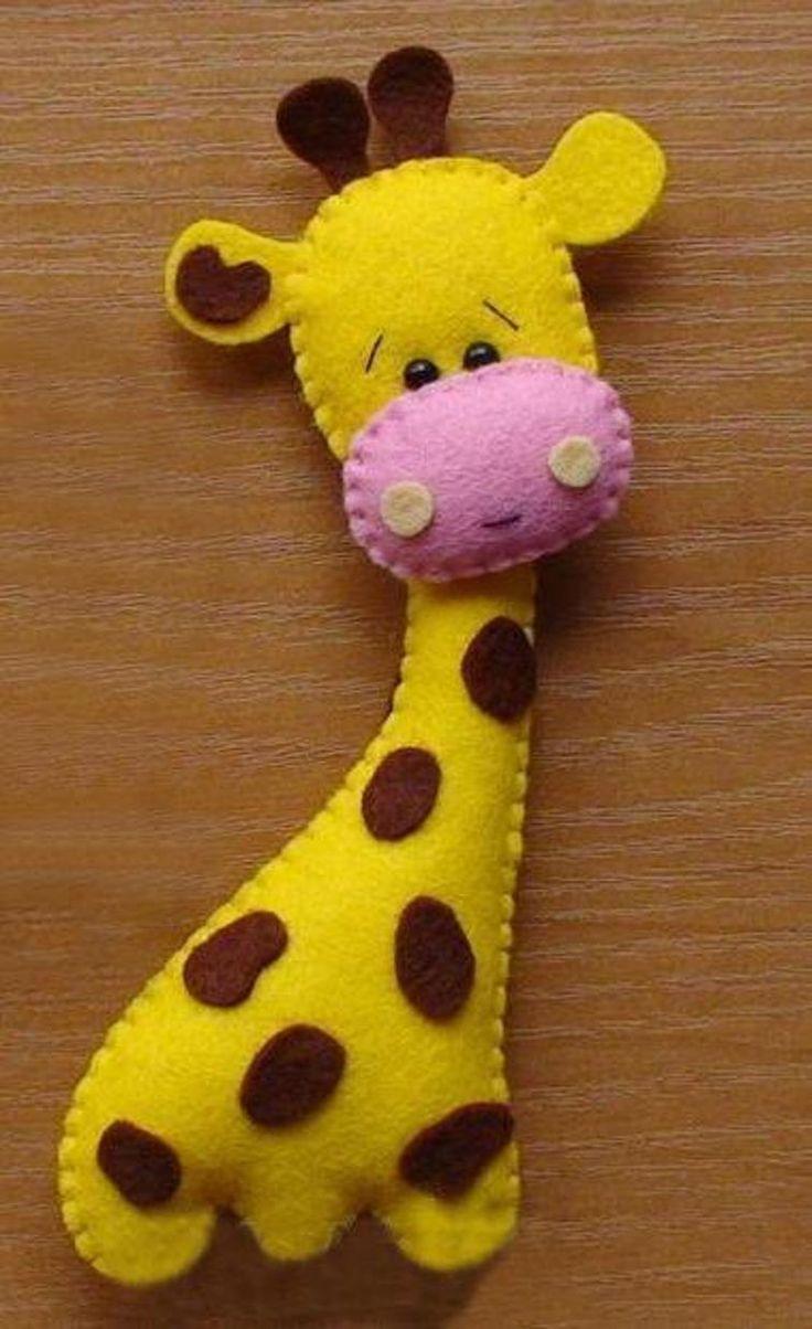 Felt Giraffe | Craftsy