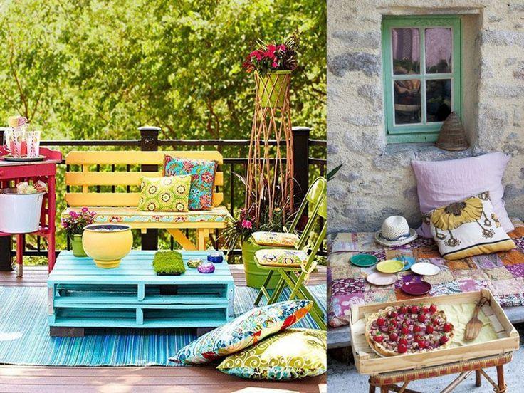 198 best images about terrazas patios y balcones on - Decoracion de terrazas ...