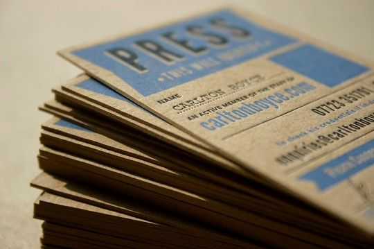 Press Pass #print #design #graphic