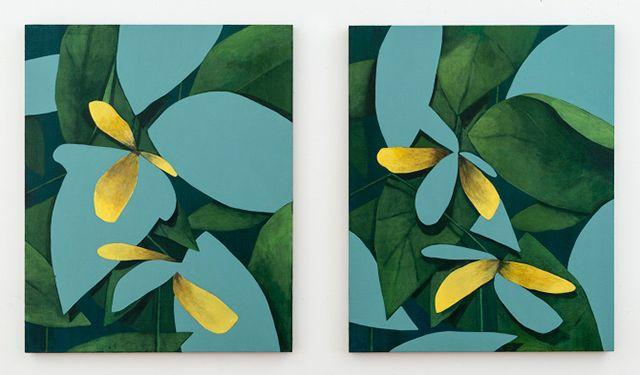 Pair (Yellow flowers), 2015