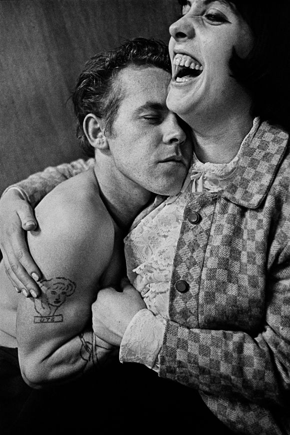 The photo from Tom Waits' Rain Dogs album, done by Anders Petersen, a fantastic photographer who among other photographed in Hamburg