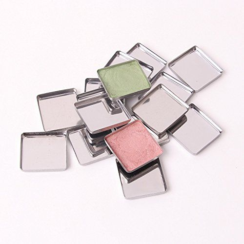 #manythings #Empty #Metal Iron Pans Square-265 Cosmetic Eyeshadow Lipstick Pigment Container Fit Magnetic Makeup Palette Wholesale