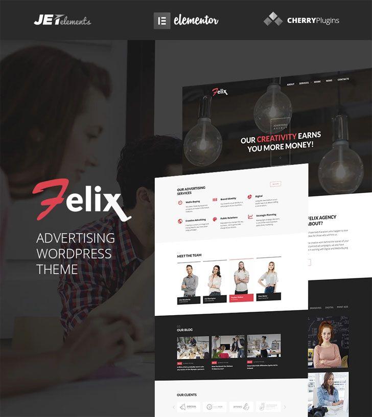 responsive #Advertising #Agency #WordPress #theme will greatly ...