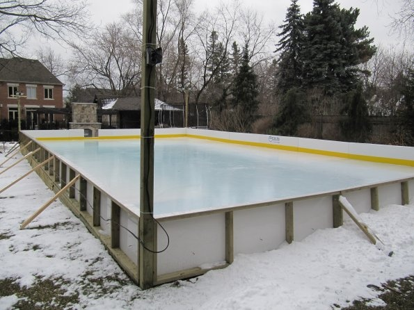 Backyard Rink Brackets : 1000+ images about rink ideas on Pinterest  Ice rink, Hockey and