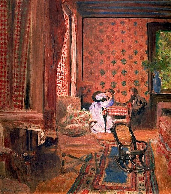 ◇ Artful Interiors ◇ paintings of beautiful rooms - Edouard Vuillard