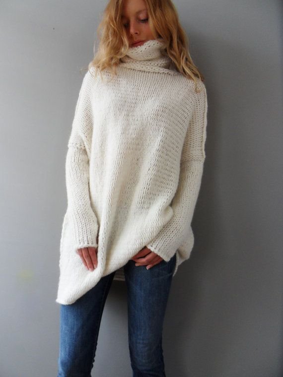 1000 Ideas About Loose Knit Sweaters On Pinterest Loose