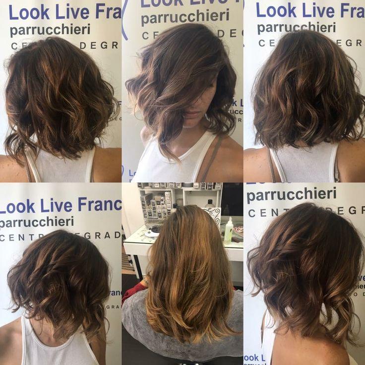 Nuovo look per Federica! Un Degradè dalle mille sfaccettature per esaltare il taglio e lo styling...  #hairstyle #hairfashion #davines #taglioverticale #sustenaiblebeautypartner #bcorp #wella #centrodegrade #haircut #looklivefrancaparrucchieri #viadeimirti29 #ragusa