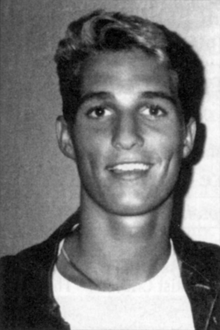 This is how Texas breeds em, ;) Matthew MCConaughey Longview HS