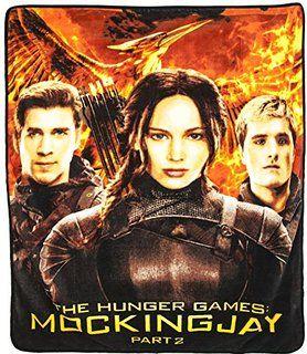 Hunger Games Fleece Throw