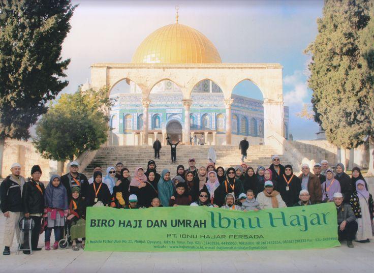 Umroh plus ziarah al-Aqso di Palestina dari rombongan jamaah umroh PT. Ibnu Hajar Persada