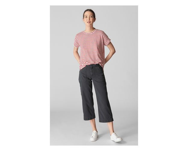 Utility Trouser, in Grey on Whistles