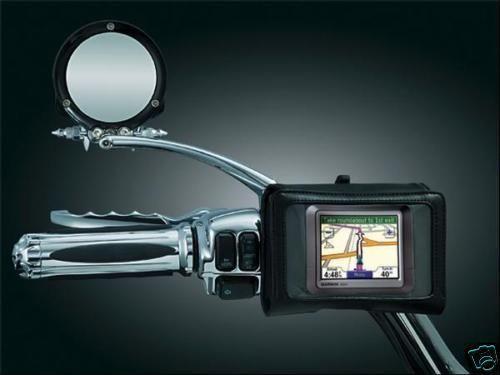 Kuryakyn GPS Holder Motorcycle Handlebar Bag NEW