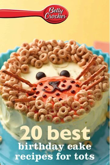 Bargain e-Cookbook: 20 Best Birthday Cake Recipes for Tots {$1.99!} #birthdays #cakes #recipe