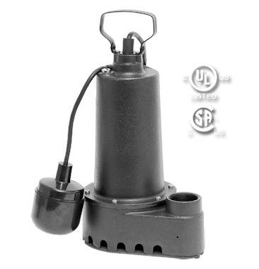 92505: 1/2 HP EFFLUENT PUMP- Cast Iron