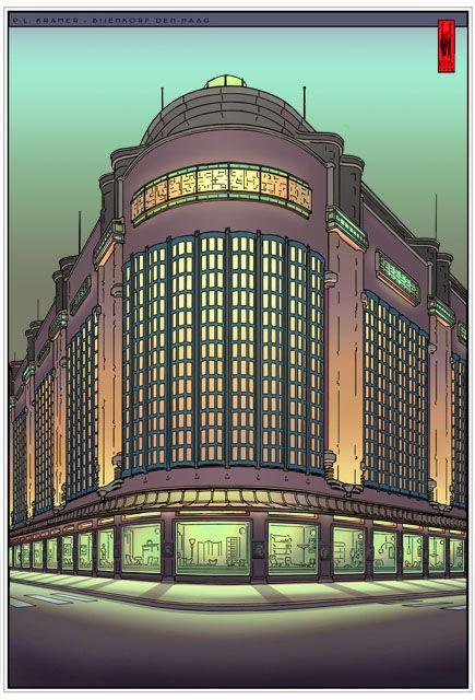 Bijenkorf - Den Haag * design: Joost Veerkamp