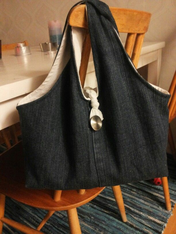 Jeans bag, very easy and fun to sew
