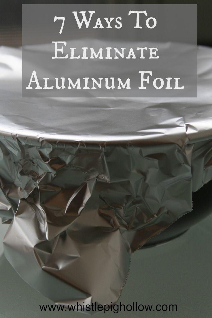 Nie wieder Aluminiumfolie!
