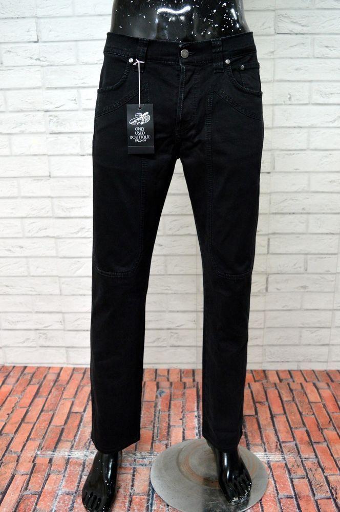 Al Pantalone 50 Jeckerson Uomo 36 Pari Taglia Man Jeans Nero Cotone wwHBvq