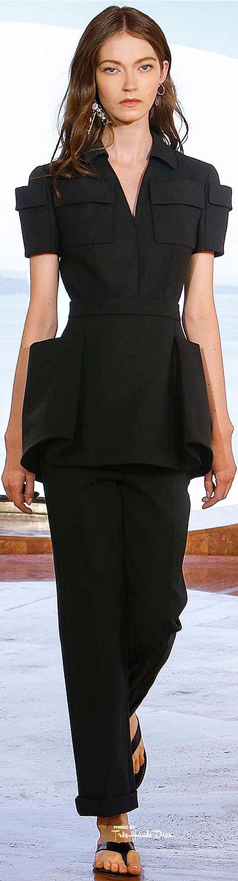 Christian Dior Resort 2016 Cannes--One huge zero, no pockets placed on hips, no woman wants their hips enlarged!