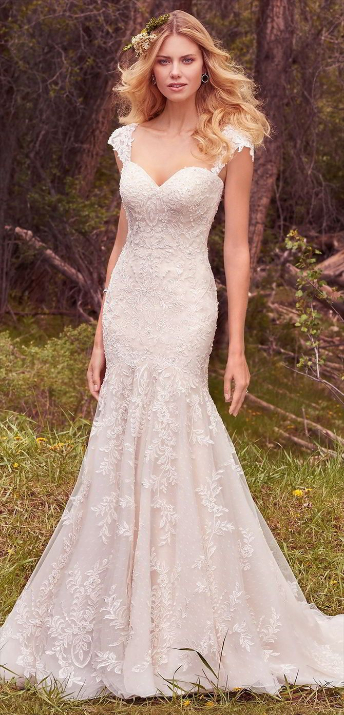 385 Best Fit Flare Wedding Dresses Images On Pinterest