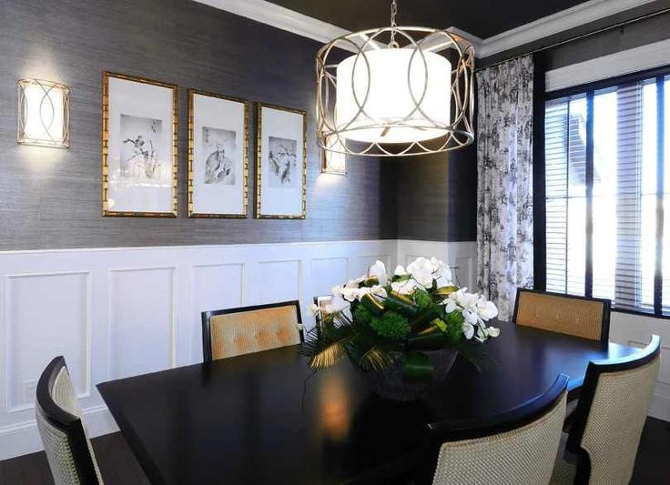 Grasscloth Wallpaper In Dining Room 2017