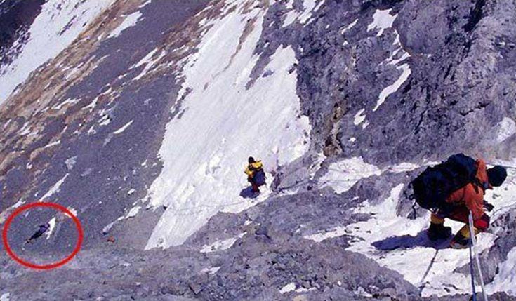 ¡Increíble! Hay más de 200 cadáveres en el monte Everest y se utilizan como puntos de referencia   Upsocl