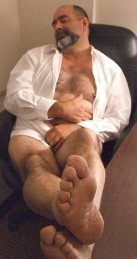 image Gay man bear feet and men fuck in foot