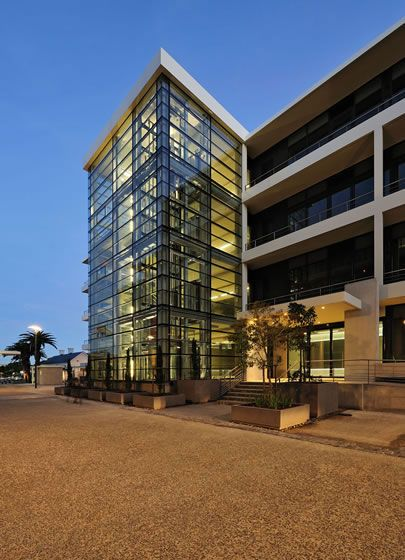 The Boulevard, Woodstock, Cape Town #officespace  See more at http://peerutin.co.za/architect-projects/the-boulevard/