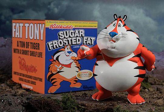 Ron English 'Fat Tony' Vinyl Figure