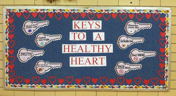 School Nurse Health Bulletin Boards | Bulletin Board Ideas For...