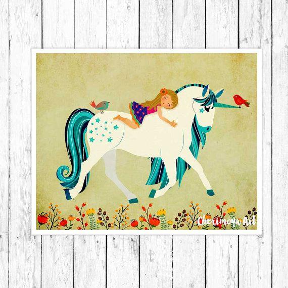 Hey, I found this really awesome Etsy listing at https://www.etsy.com/listing/252718946/unicorn-print-children-nursery-wall-art