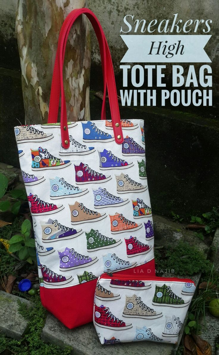 Set tote bag with pouch by mademedina indonesia