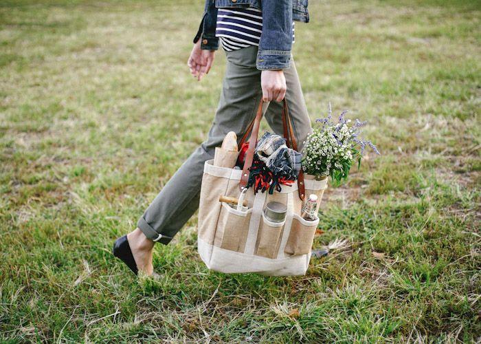 Apolis + Kinfolk Garden Bag picnic company picnic summer picnic prepare for