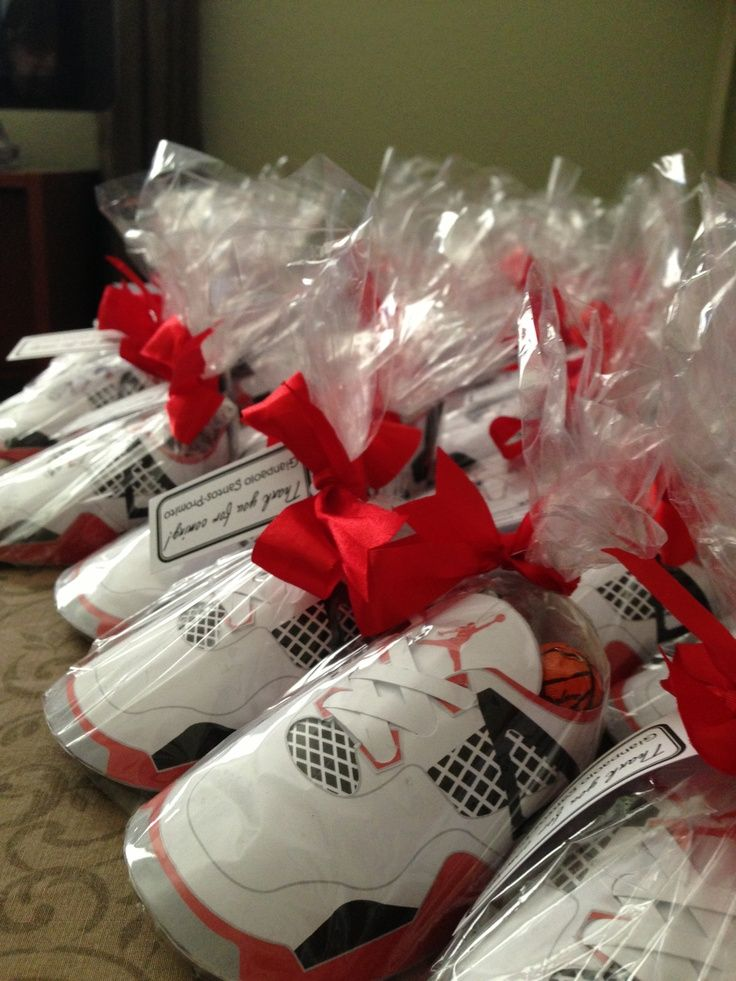 Jordan Shoe Favors | Jordan Shoes Baptism Favors
