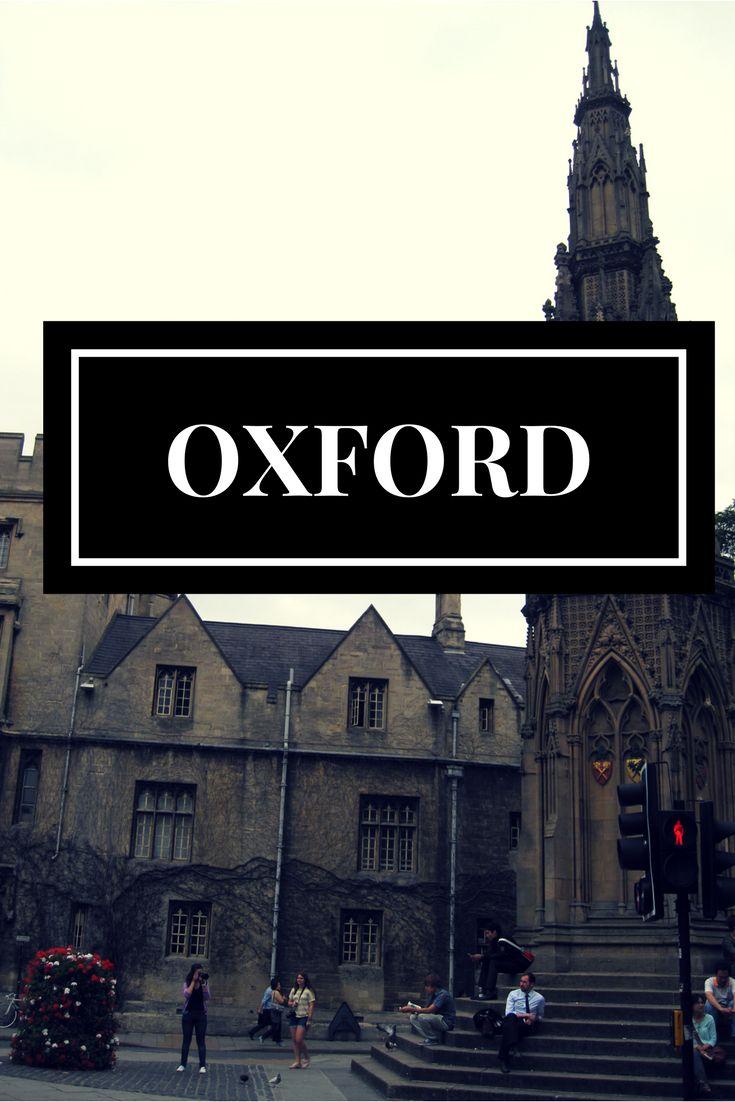 Visita a la famosa ciudad universitaria de oxford