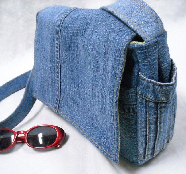 Jean reciclado bolsos 3