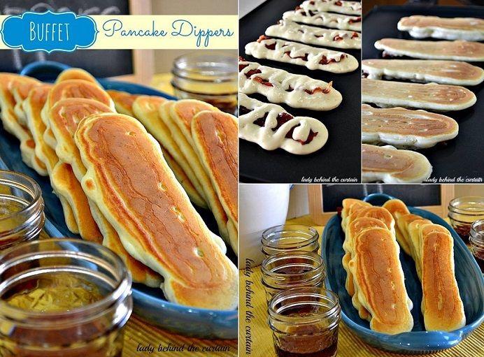 Pancake Dippers Recipe | DIY Cozy Home