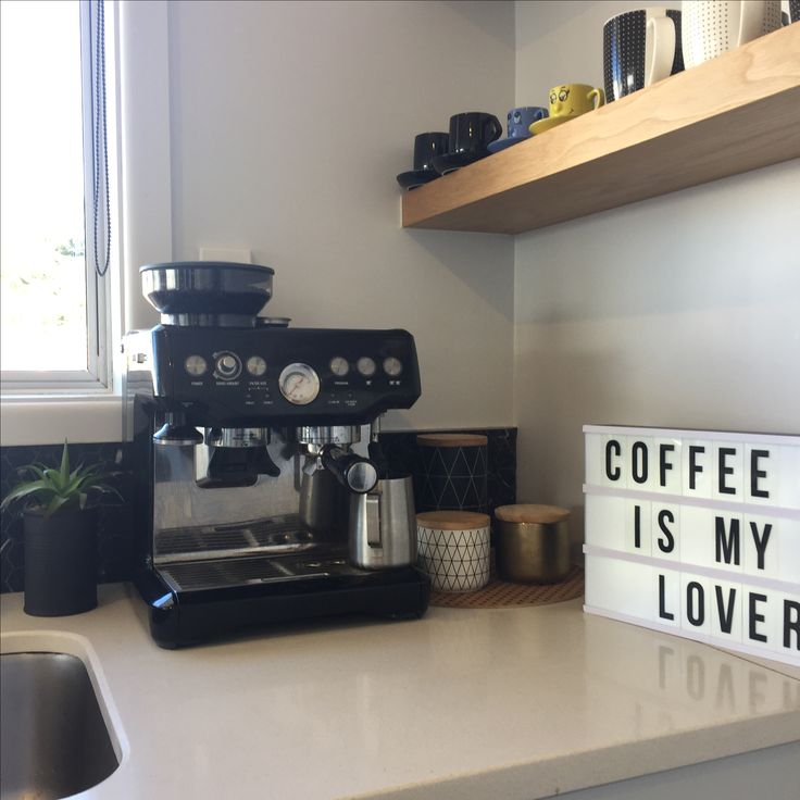 Coffee Station in My Home