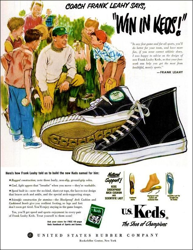 I remember my brothers wore these in the 50s but I didn't remember they were keds!