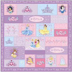 @Overstock - Your child will enjoy a comfortable night's sleep with a Disney Princess quilt   Childrens' quilt showcases patches with different Disney's princess  Quilt makes a terrific complement to any girl's bedroom decorhttp://www.overstock.com/Bedding-Bath/Disneys-Princess-Fairy-Tale-Quilt/4328203/product.html?CID=214117 $29.99