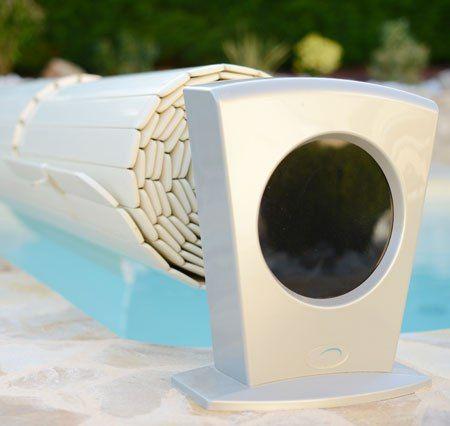 Электрическое наматывающее устройство бассейна MOON Solar солнечные батареи 3,5*12,5 м