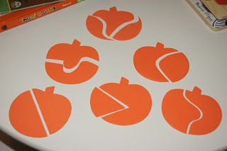 """""""Making Montessori Ours"""": Pumpkin Fun...Sewing, Crafting, Spooning & Puzzles!!!"""