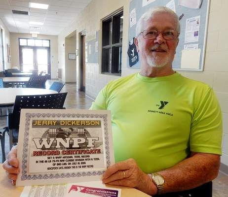 Kennett man, 75, breaks powerlifting record; sets sights on world record