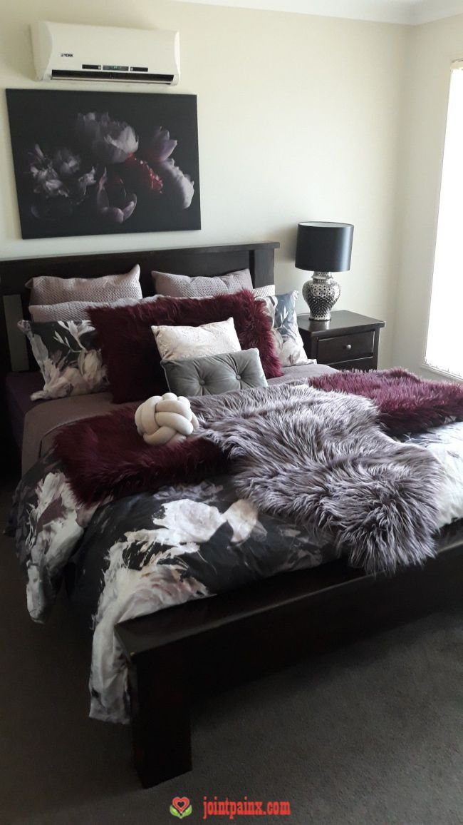 Styling With Items From Kmart Room Decor In 2019 Burgundy Bedroom Burgundy Room Master Bedrooms Decor In 2020 Burgundy Bedroom Master Bedrooms Decor Burgundy Room Master bedroom ideas kmart