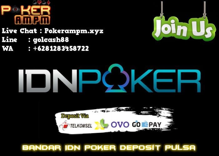 Bandar Idn Poker Deposit Pulsa Pokerampm Di 2020 Poker Kartu Remi Permainan Kartu