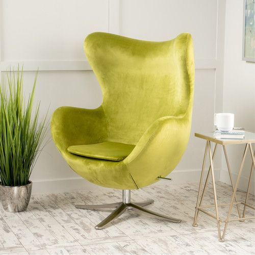 Found it at AllModern - Korinna Swivel Club Chair