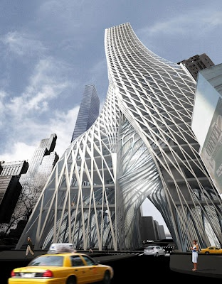 """Edgar Street Towers"" by IwamotoScott Architecture (Craig Scott, CCA Architecture Faculty), New York City"
