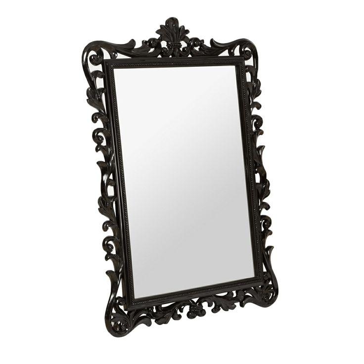 Star by Julien Macdonald Designer black baroque mirror- at Debenhams.com