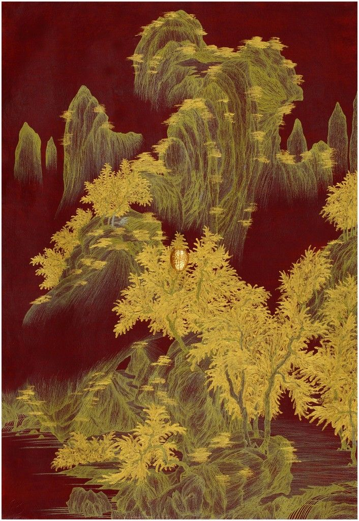Yao Jui-chung 姚瑞中, Brain Landscape II: Autumnal Equinox  , 2015, Tina Keng Gallery