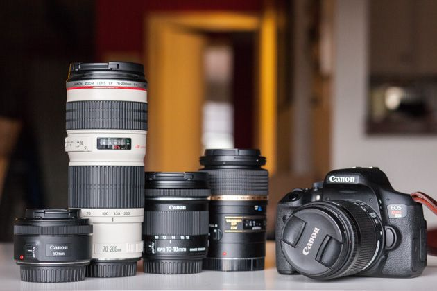 canon lenses, photography